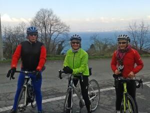 Françoise, Eliette et Jacky à Véron
