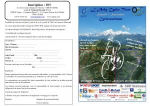 plaquette Cyclotourisme