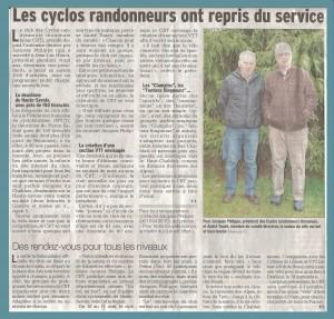 Cyclos Randonneurs Thononais