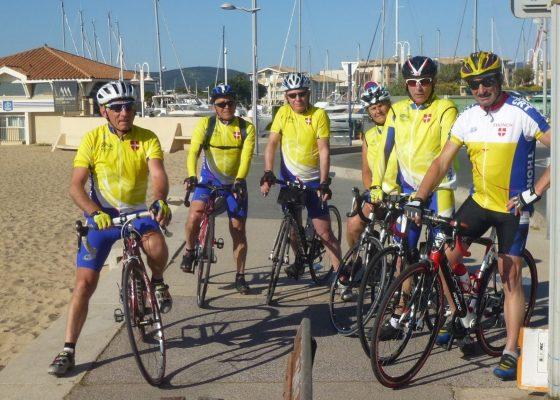 Dernier jour pour notre sortie de décrassage, à Fréjus plage avec Catherine notre invitée du jour