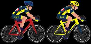 duo cyclistes