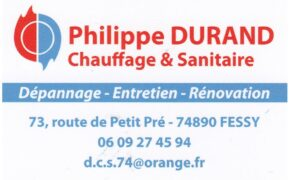 Chauffagiste-Durand